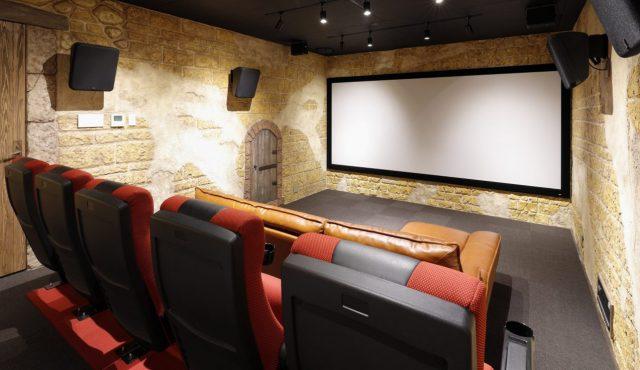 専用室シアター CASE2<br>ここにしかない、唯一無二の映画館