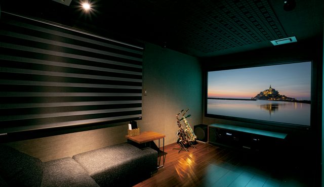 専用室シアターCASE11<br>楽器演奏とシアターの両立を叶える防音室